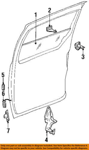 CHRYSLER OEM Side Sliding Door-Stabilizer 4675516AB