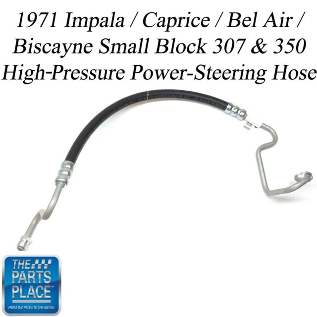 1971-71 Impala / Caprice / Bel Air / Biscayne High-Pressure Power-Steering Hose