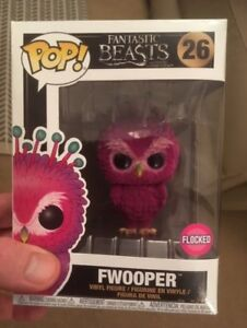 FLOCKED FWOOPER FANTASTIC BEASTS FUNKO Pop Vinyl New in Mint Box