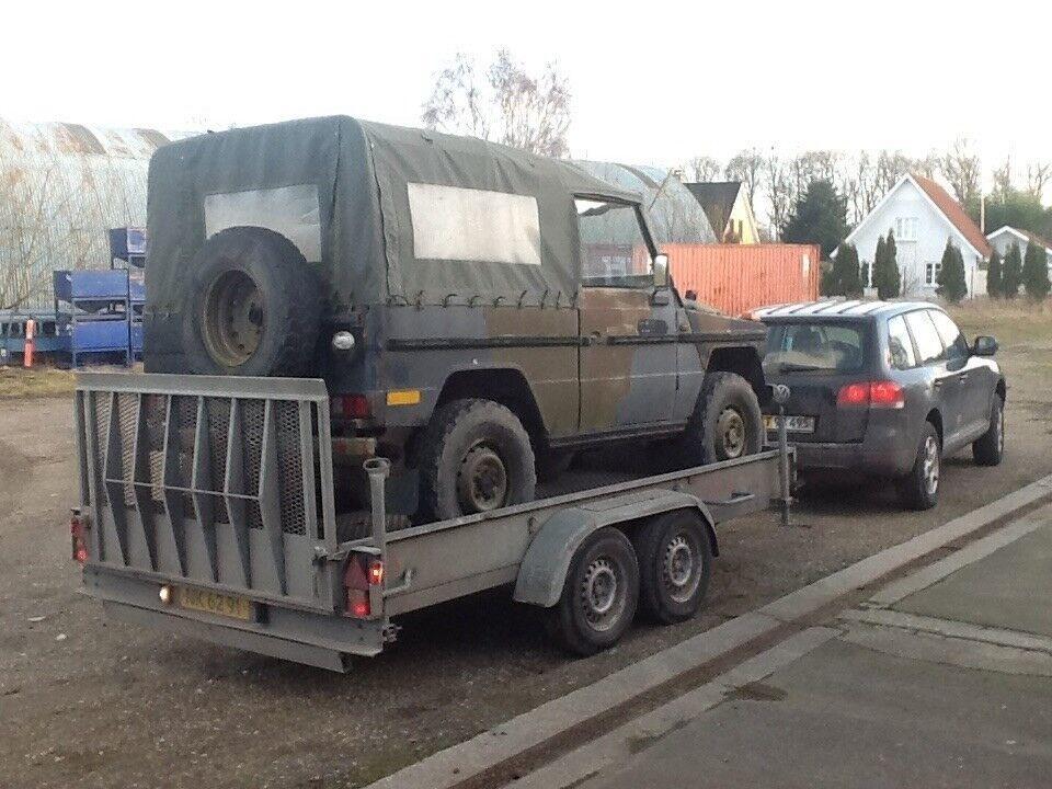 Maskintrailer, Variant / Dantrailer 3.5 tons, lastevne