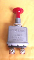 1 Pollak On-off Heavy Duty Red Button 75 Amps Light Switch.2.2.