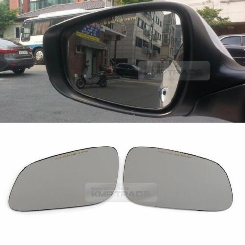 Blind Spot Curved Side Mirror Glass Safe Wide Tray for CHEVROLET 2010-2015 Spark