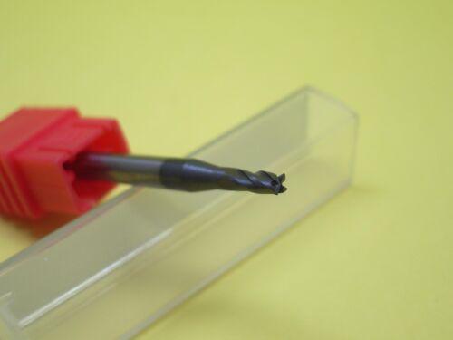 3.5MM Tungsten Carbide End Mills 4 Flute HRC50 50MM Long Flat Bottom 6MM Shaft