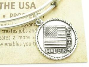 Wind-and-Fire-Made-In-The-USA-Charm-Silver-Wire-Stackable-Bangle-Bracelet-Gift