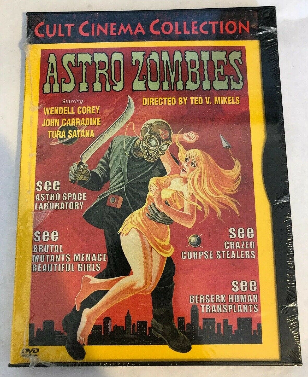 ASTRO ZOMBIES MOVIE POSTER Terrifying RARE HOT NEW 2