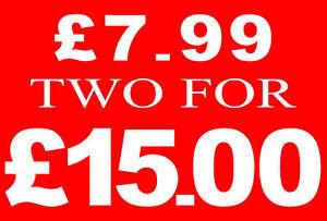 £ 7.99 Deux Pour £ 15 Livre Vente Rail Signe Carte Retail Shop Display-haute Qualité-afficher Le Titre D'origine 6osjjedh-07214639-309415012