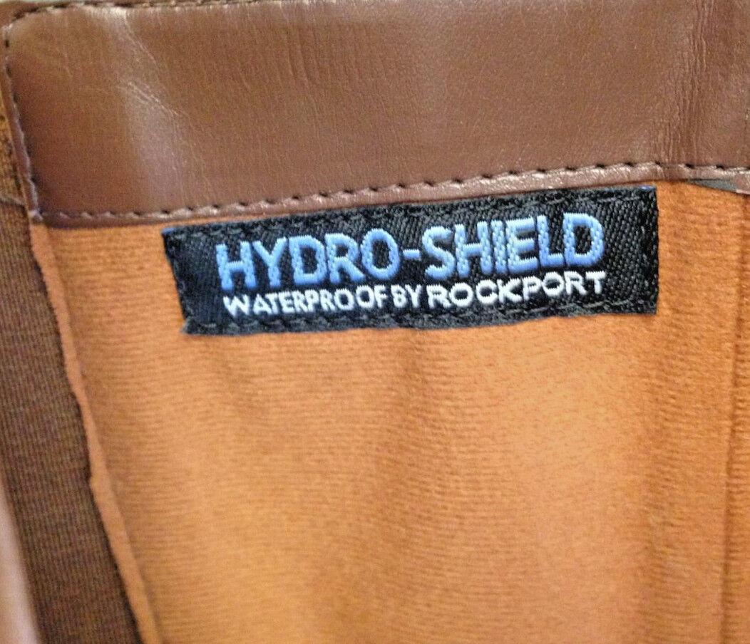 ROCKPORT Braun Leder Stiefel Riding Riding Riding  Nubuck Hydro-Shield Waterproof Damenschuhe 5M a97233