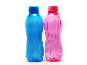 Tupperware 500 ML Eco Flip Top Water Bottles New Set of 4