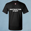 New Blackwater Instructor  USA Triple Canopy Private Military Black T Shirt