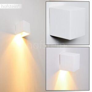 Applique murale blanche Lampe de corridor Spot Lampe de chambre à ...