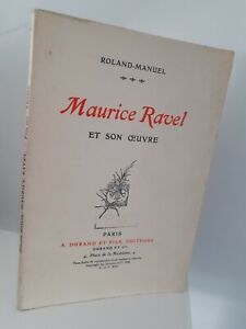 Roland-Manuel Maurice Ravel Y Son Maestra Pin 1926 A. Durand París Impresión