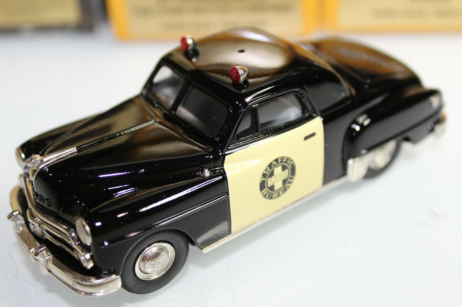 Brooklin Models 1 43 Scale 1950 DODGE WAYFARER COUPE TRAFFIC BUREAU BRK.70X 1999