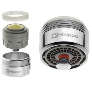 Water Saving 48 Hihippo Tap Aerator Start Stop Button Nozzle For