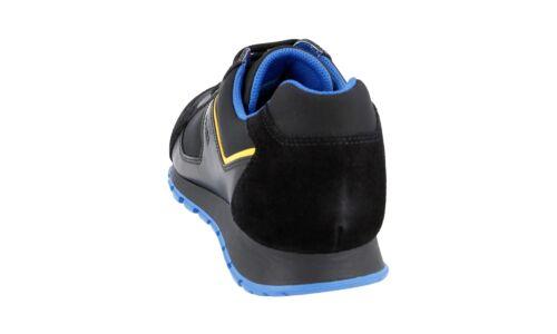 4e2932 Nero 40 6 5 Scarpe Bluette Nuove 40 Lusso Prada gxc6wAE