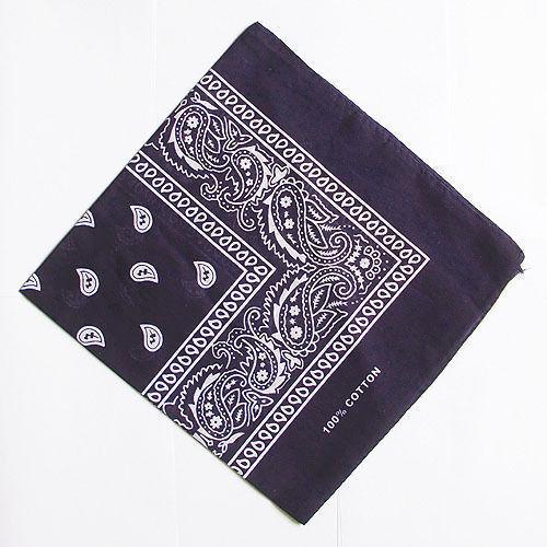 Hot ! Wholesale Lot 100/% coton Paisley Bandanas Double Face Head Wrap écharpe H5