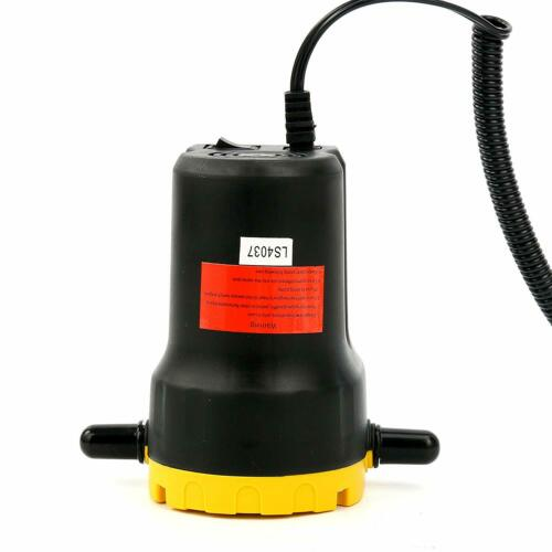 12V DC Motor Oil Diesel Extractor Scavenge Suction Transfer Change Pump 1.5LPM
