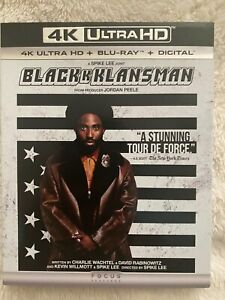 BLACKKKLANSMAN-2018-4K-Ultra-HD-UHD-disc-only-No-Blu-ray-amp-Digital-Copy