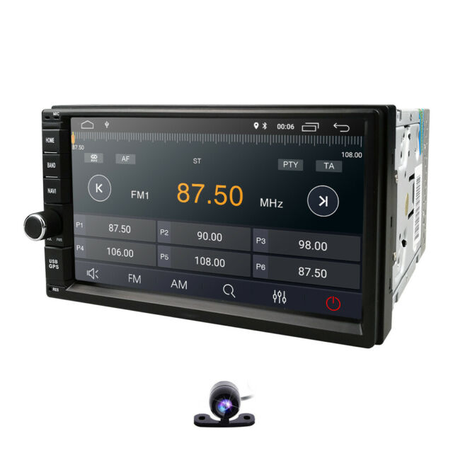 Android 7.1 Car Navigation Head Unit MP5 Player Bluetooth Stereo Audio FM OBD
