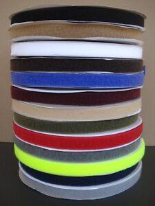Bande scratch agrippante largeur 20 mm et longeur 200mm à coudre 13 coloris