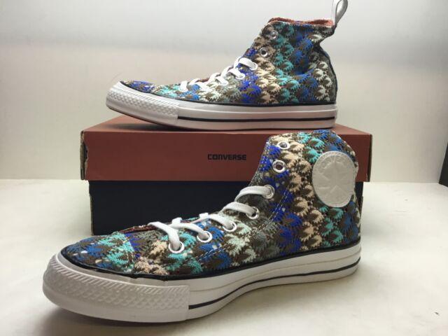 9bc8db6b8fdf Converse Chuck Taylor CTAS 553436C Missoni Hi Multi Women s Shoes Size 7  Classic