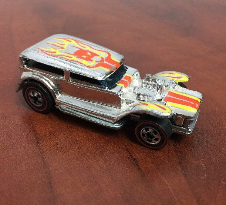 Vintage - hot wheels chrome herumtreiber rotline räder 1969 hongkong - basis