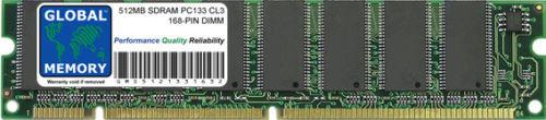 512MB PC133 133MHz 168-PIN SDRAM DIMM FOR ROLAND FANTOM Xa XR G6 X6 G7 X7 G8 X8