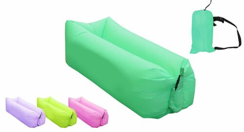 Fast Inflatable Lounger Portable Outdoor Indoor Wind Bed Lounger Air Bed Sofa