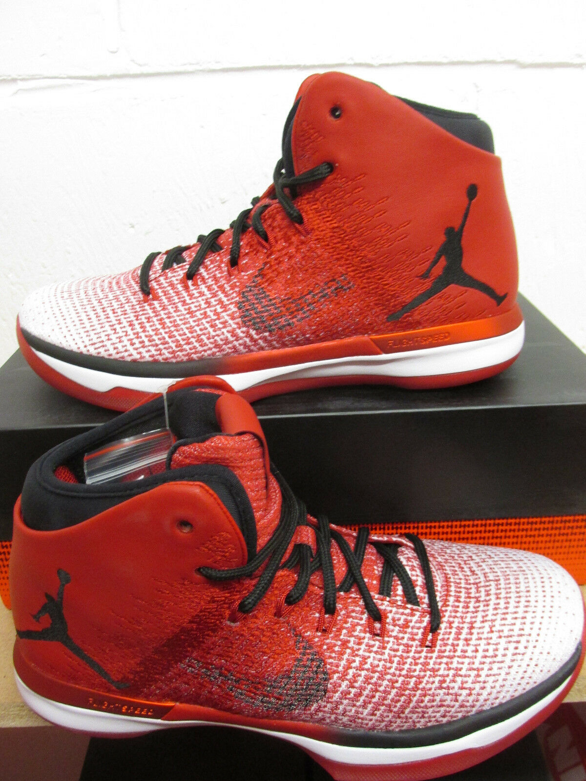 Nike Trainers Air Jordan XXXI Mens Hi Top Basketball Trainers Nike 845037 600 Sneakers Schuhes 100b35