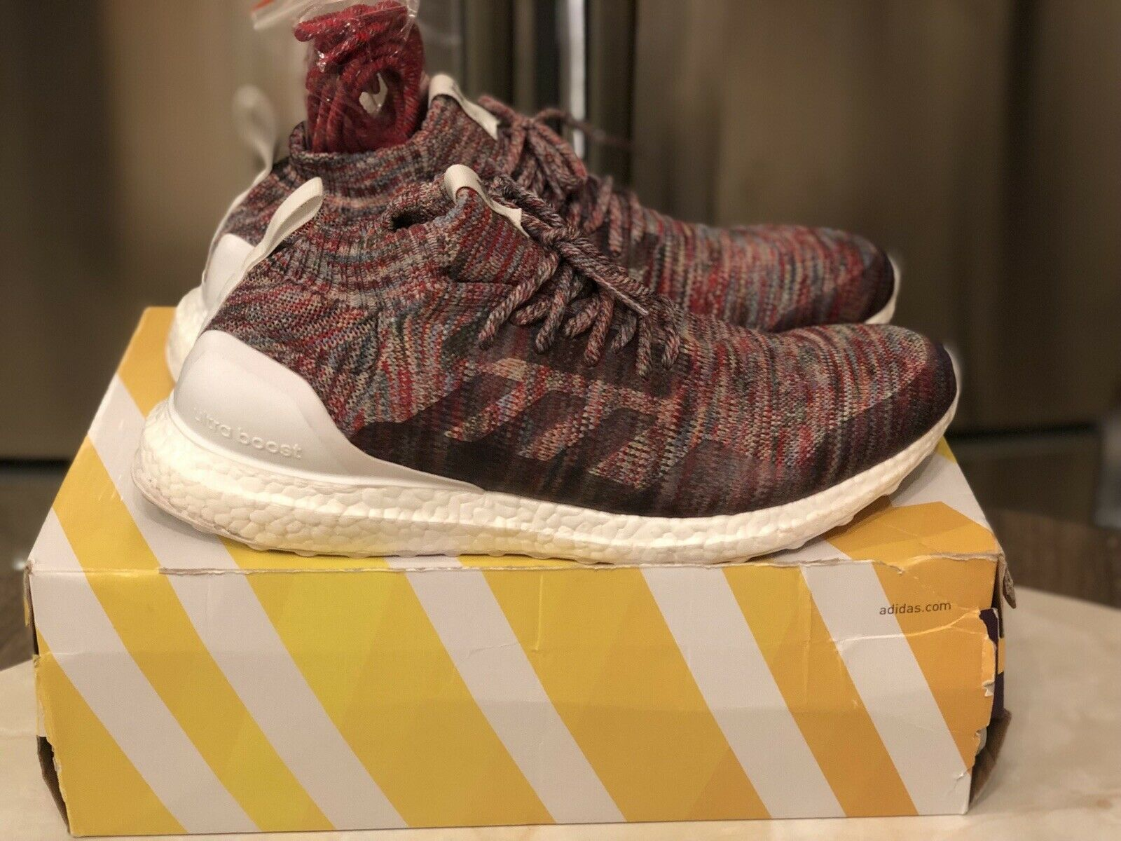 Kith X Adidas Ultra Boost Mid Aspen Size 12 Men's shoes