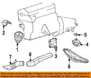 image is loading mercedes-mercedes-benz-oem-92-93-300e-engine-