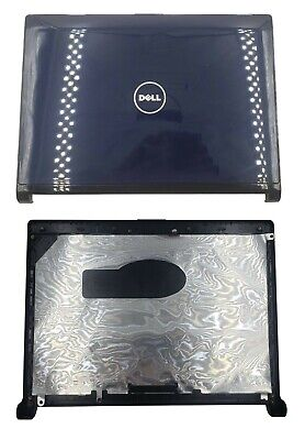 New Dell OEM Inspiron 1318 LCD Back Cover Lid  Hinges F205H Y178D