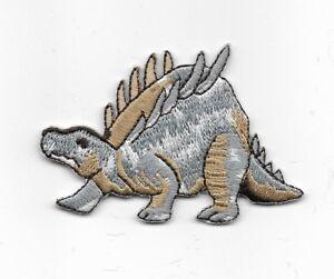 Ankylosaure Spiked Dos Dinosaure Brodé Iron On Patch Wx0057-afficher Le Titre D'origine Bonne RéPutation Sur Le Monde