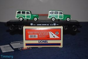 Image Is Loading Lionel Trains 6 36000 Route 66 Flat
