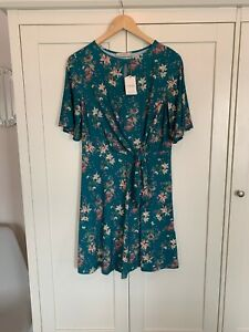 latest best place good looking Oasis Sise Small Green Floral Dress New With Tags | eBay