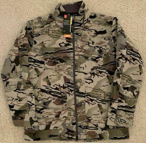 Mens Under Armour Grit Barren Mid Season Jacket Camo 1320252-999 NWT $180