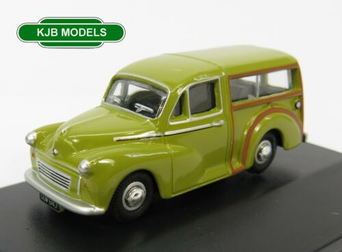 BNIB OO GAUGE OXFORD 1:76 76MMT010 Morris Traveller Limeflower Car