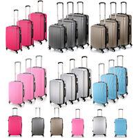 Various Lightweight Luggage Hard 4wheel Abs Suitcase - Pink/grey/rose Red/silver