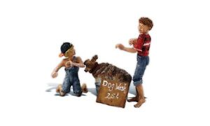 Woodland Scenics 2566 G Scale Figures You Dirty Dog