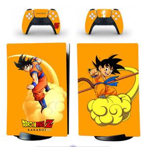 Ps5 Digital Edition Consoles Vinyl Skins Decal Sticker Dbz Kakarot Son Goku Kids Ebay