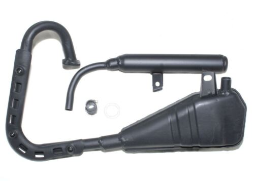 Yamaha Pw 50 Auspuffanlage Schalldämpfer Komplett 1981-2010 Neu