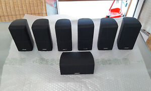 Diffusori-BOSE-ACOUSTIMASS-5-7-10-15-II-III-IV-amp-LIFESTYLE-Casse-Cube-Speakers