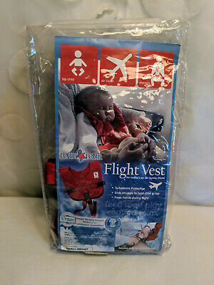 *NEW! Baby B/'Air AIRLINE FLIGHT VEST Airplane SAFETY BAir Seat Belt FAA Harness