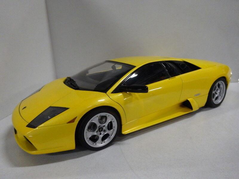 AutoArt  Lamborghini Murciélago V12 6.2L jaune 1 12 Rare Model 12071