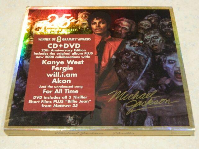 Michael Jackson Thriller 25 CD/DVD