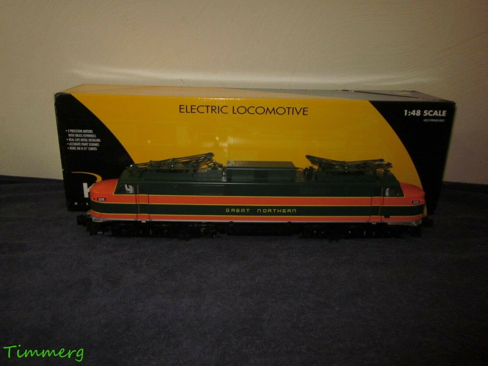 K-Line K2749-0377HC New Haven EP-5 Electric Locomotive w Horn NEW  MM