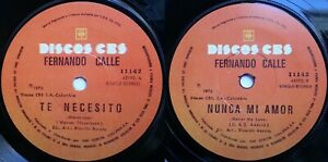 FERNANDO CALLE THE ASSOCIATION NEVER MY LOVE 1976 SPANISH-SUNG CHILEAN PRES ONLY