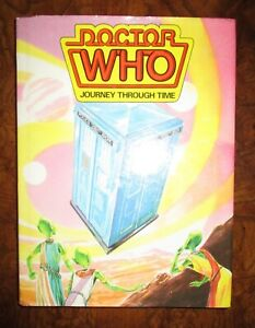 Doctor Who Journey Through Time Book BBC TV 1985 Hardcover GN Comic