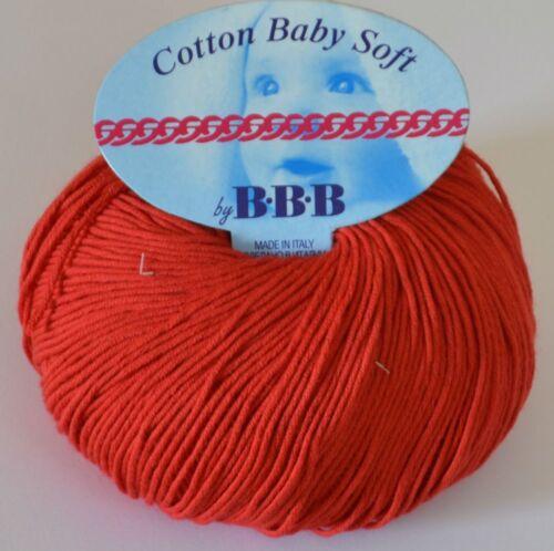 Gedifra Cotton Baby Soft Ägyptische Baumwolle Bbb Titanwool für Spitz und Häkeln