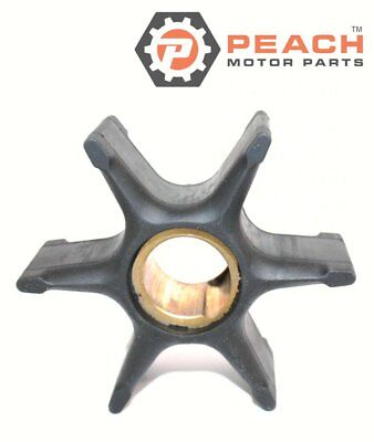 Peach Motor Parts PM-0396725 Impeller Water Pump; Replaces Johnson® Evinrude®