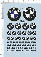 Decals BMW  for 1/18 1/20 1/24 or other different scales 00324
